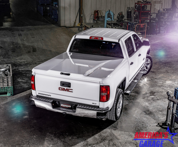 Undercover Chevrolet Silverado 1500 2019-2021  Elite LX Hard Cover by Undercover OLYMPIC WHITE