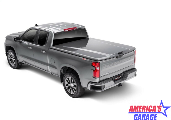 Undercover Chevrolet Silverado 1500 2019-2021 Satin Steel Grey Metallic Elite LX Hard Cover by Undercover
