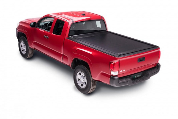 "Retrax PowertraxONE MX Tonneau Cover I Toyota Tundra l5'5"" Bed l w/Deck Rail System 2007-2019"