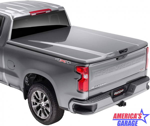 Undercover Chevrolet Silverado 1500 2019-2021 Dark Shadow Metallic Elite LX Hard Cover by Undercover