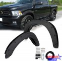 Ram 1500 2009-2019 Black Textured  Pocket Style Fender Flare Set by Truck That USA HW-DR5-016