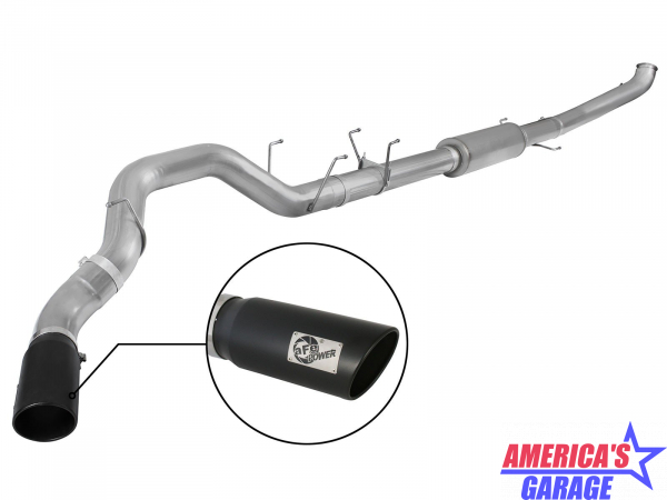 Ram 2500 2013-2018 6.7L Turbo Diesel  5 inch Large Bore-HD 409 Stainless Turbo-Back Exhaust System by aFe Power 49-42047-1B
