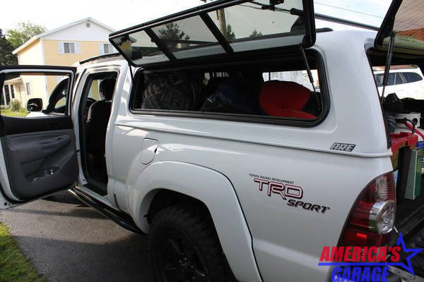 Ford F250-F350 2015-2019 6.7 Bed ARE V series Windoor Canopy N3470329