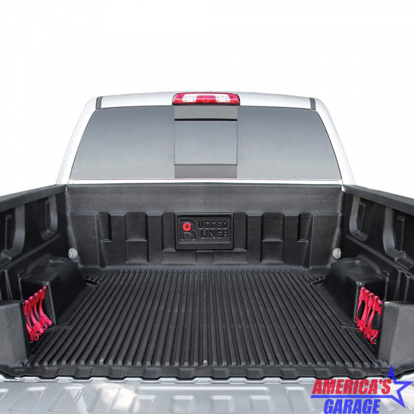 Ford F250, F350 2017-2019 6.4 Bed Under Rail Net Bed Liner Rugged Liner F65U17N
