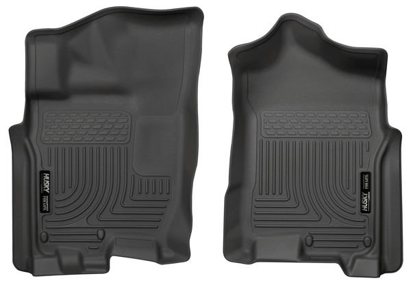 Husky Liners X-Act Front Floor Liners I Nissan Titan l 2016-2019 Black Rubber 13601