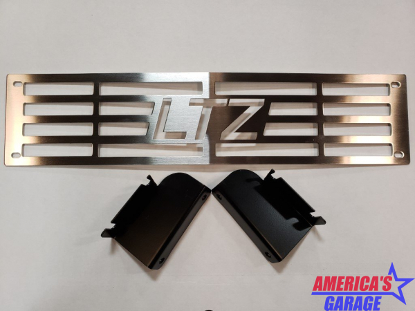 Chevrolet 2500 2015-2019 Bumper Grille Insert Mountains 2 Metal 400-160-3