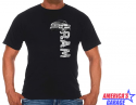 Black Ram Trucks Front Graphic T-Shirt - Size Medium Medium S/M/L RAM803DST5BLK-MD