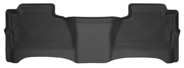X-Act Contour 2nd Seat Floor Liners I Chevrolet Silverado 2500 2015-2019 Black Rubber 53211