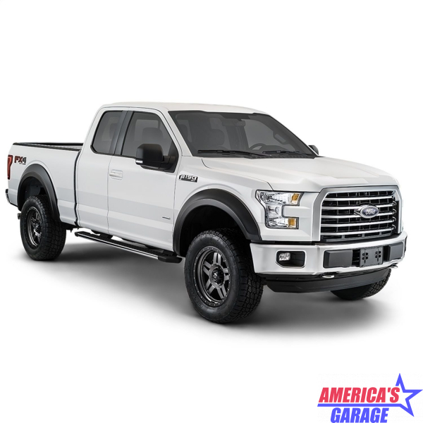 Ford F-250 2017-2019 Smooth Style Fender Flare Set Bushwacker 20943-02