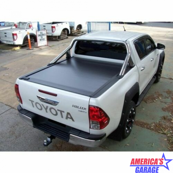 Toyota Hilux Dual Cab 2016-2019 PowertraxONE MX Tonneau Cover Retrax 70132