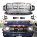 Raptor Style Replacement Grill | Ford F-150 | 2015-2019 HW-FD-D002