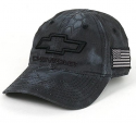 Chevrolet Silverado 3D Logo Embroided Baseball Cap Black 5841747577