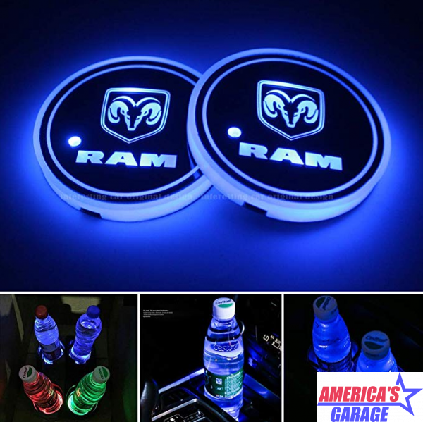 Ram Cup Holder LED Light Plate\'s X0023KEFD9