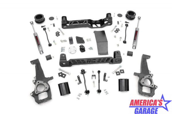 RAM 1500 2013-2019 4 inch Lift Kit Rough Country 33323