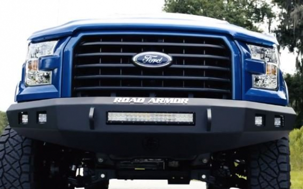 Road Armor Stealth Front Non-Winch Bumper No Guard  Light Bar Compatible l DT RAM 1500 l 2020 4191F0B-NW-AUS
