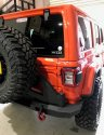 Road Armor Jeep JL Stealth Rear Bumper and Tyre carrier 5182RIB-TC