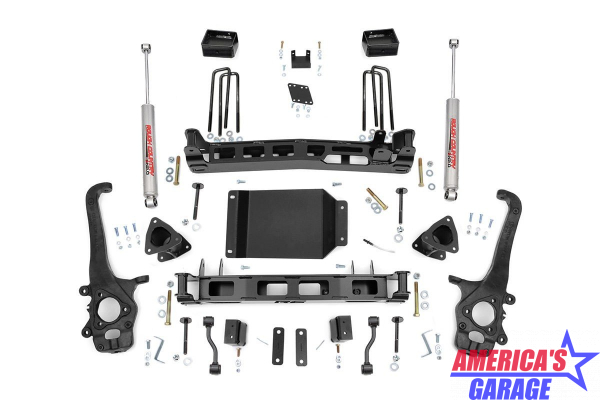 Nissan Titan 2004-2019 4 inch Suspension Lift Kit Rough Country 874.20