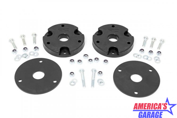 Chevrolet Silverado 1500 2019-2021 2 inch Upper Strut Leveling Kit by Rough Country 1323
